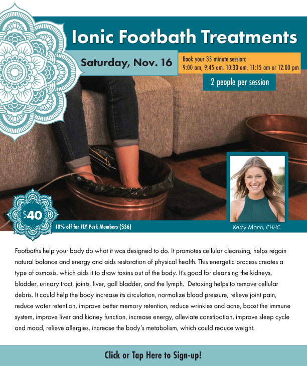 Ionic Footbath Treatments