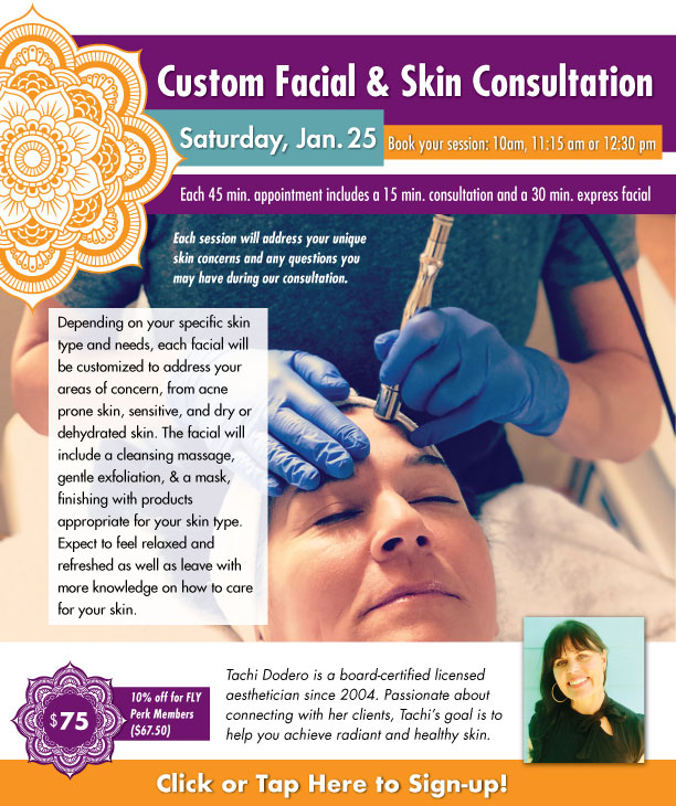 Custom Facial & Skin Consultation