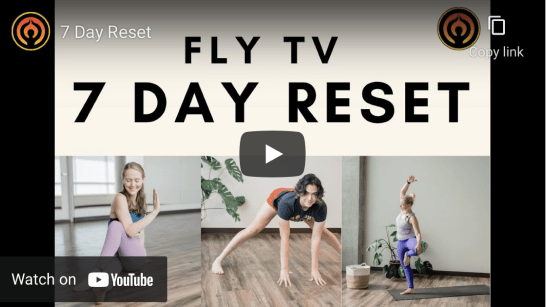 FLY TV 7-Day Reset